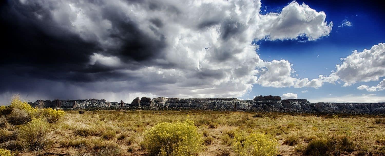 Colorado Buttes & Clouds